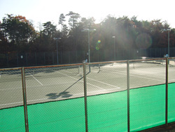 本学テニスコート1